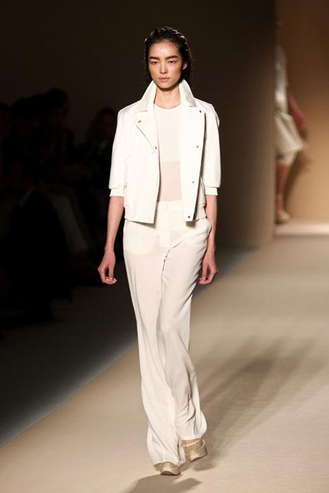 Pantaloni e giacca bianca Max Mara