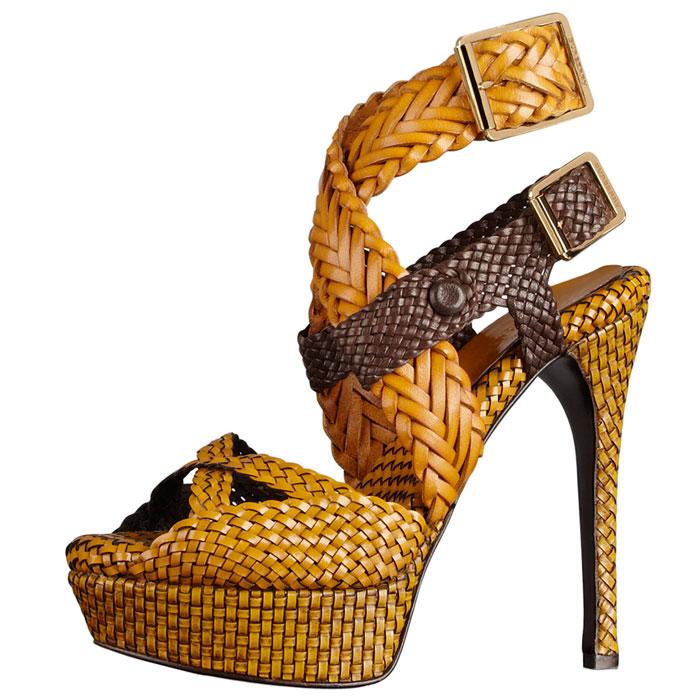 Sandalo intrecciato  Burberry