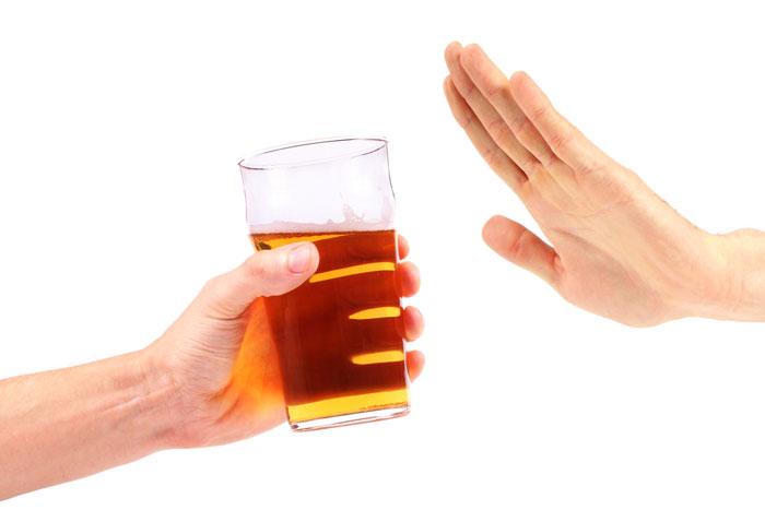 Eliminare l'alcool