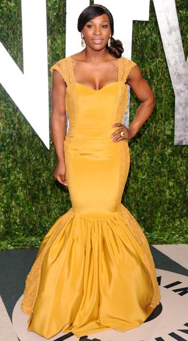 Attrici modelle Curvy - Serena Williams
