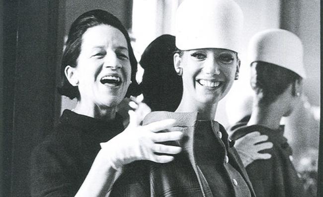 Diane Vreeland con Marisa Berenson