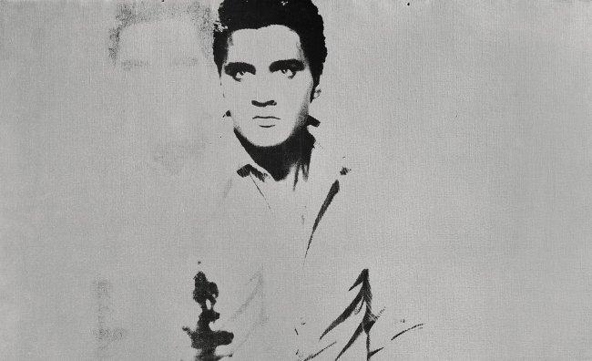 All'asta ritratto di Elvis dipinto da Warhol