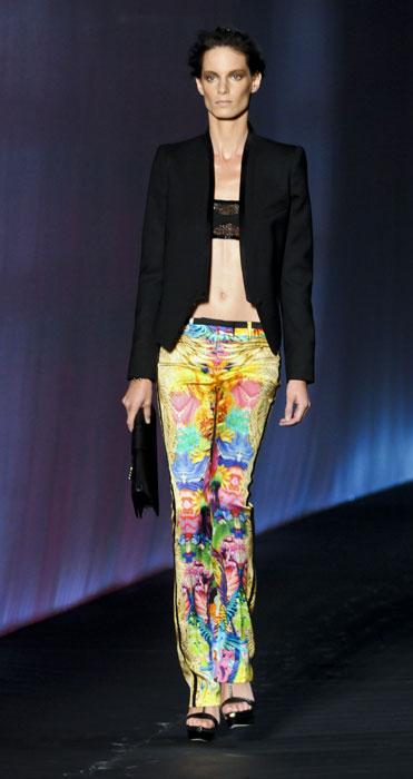 Pantaloni fantasia Roberto Cavalli