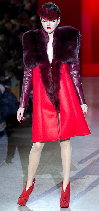Fatima Lopes 2012 2013 - abito rosso