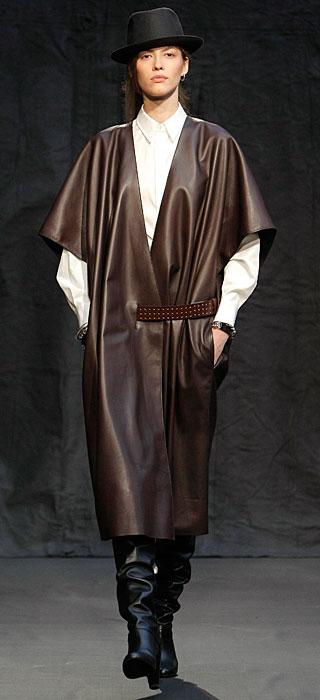 Hermès 2012 2013 - cappotto pelle