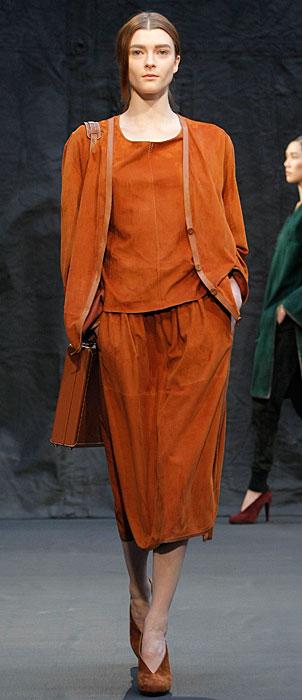 Hermès 2012 2013 - abito arancione