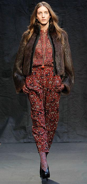 Hermès 2012 2013 - cappotto corto pelliccia