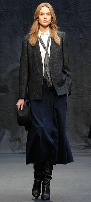 Hermès 2012 2013 - cravatta grigia
