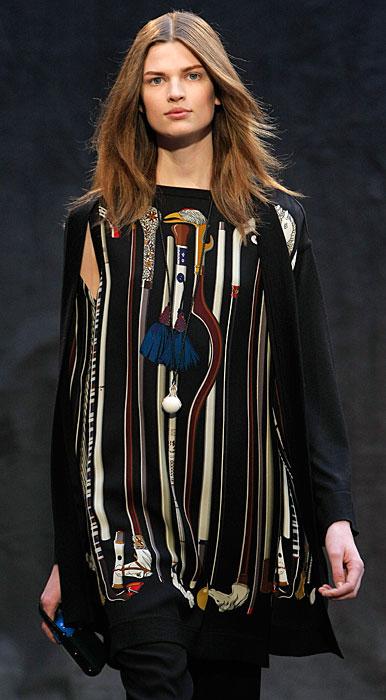 Hermès 2012 2013 - maglia lunga con stampe
