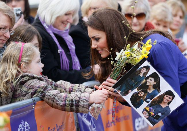 Kate Middleton - fiori