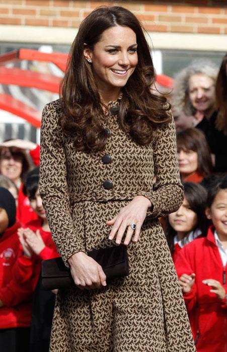 Kate Middleton - cappotto marrone