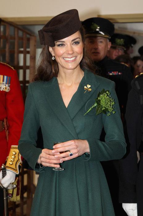 Kate Middleton - abito verde