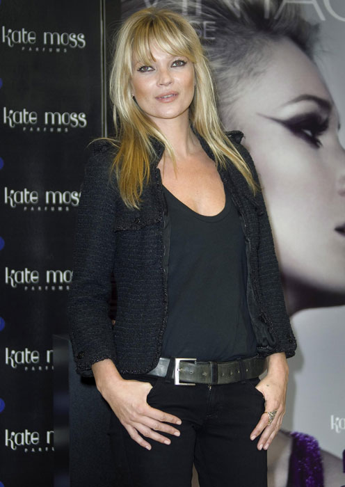 Kate Moss - giacca nera