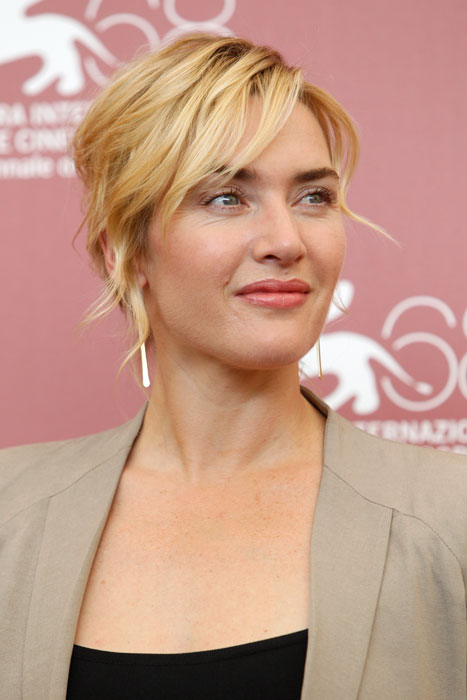 Kate Winslet - giacca beige