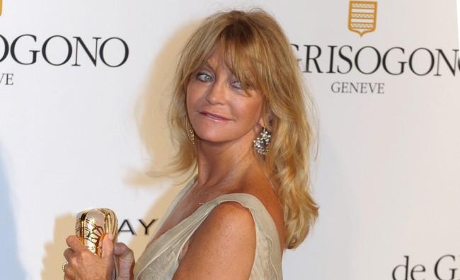 Per essere felici bastano 10′. Parola di Goldie Hawn