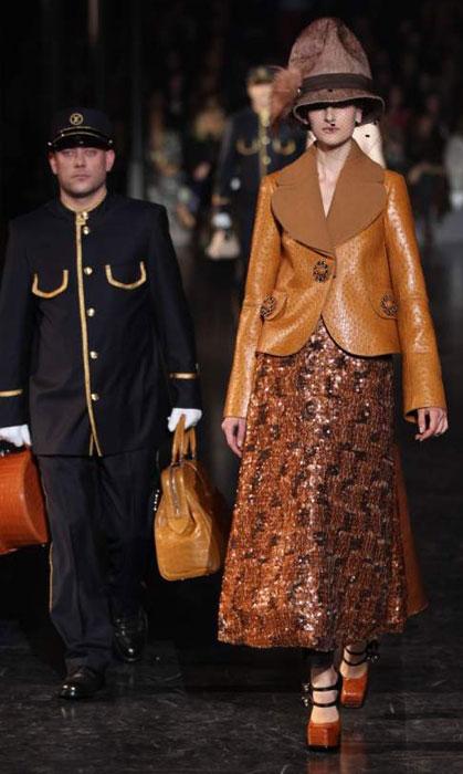 Louis Vuitton 2012 2013 - giacca di pelle