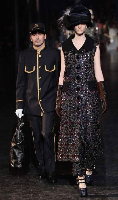 Louis Vuitton 2012 2013 - abito senza maniche nero