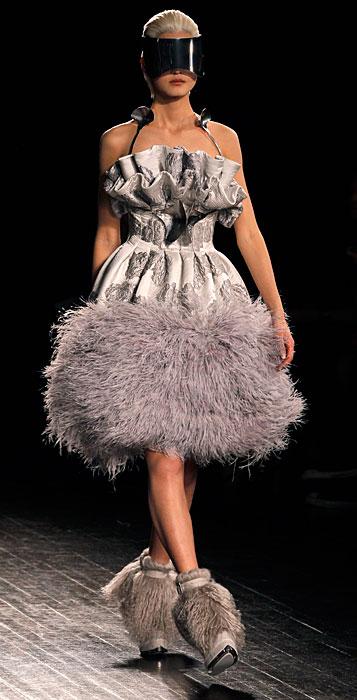 Alexander McQueen 2012 2013 -  abito lavanda