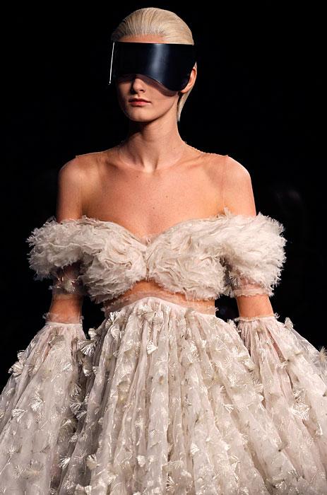 Alexander McQueen 2012 2013 - abito bianco