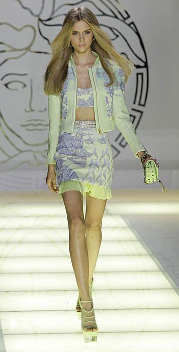 Completo verde fluo Versace