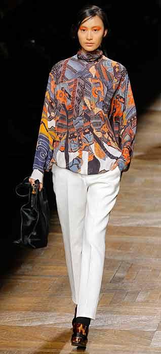 Dries van Noten 2012 2013 - pantalone bianco