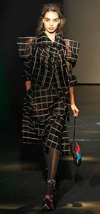 Vivienne Westwood 2012 2013 - completo a quadri