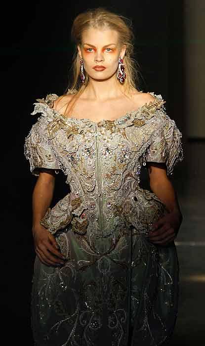 Vivienne Westwood 2012 2013 - abito con perline