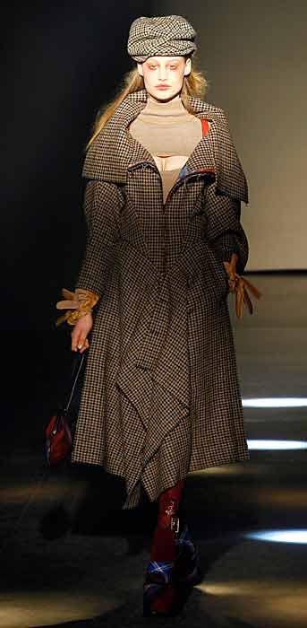 Vivienne Westwood 2012 2013 - cappello marrone