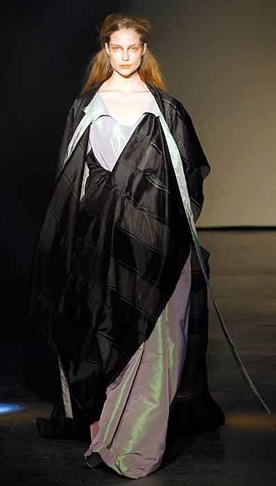 Vivienne Westwood 2012 2013 - mantello nero
