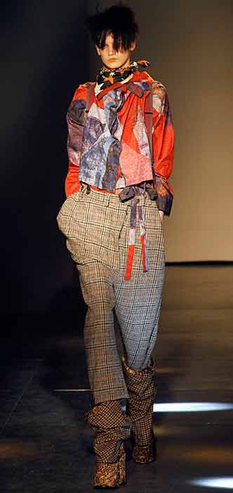 Vivienne Westwood 2012 2013 - maglia con stampe