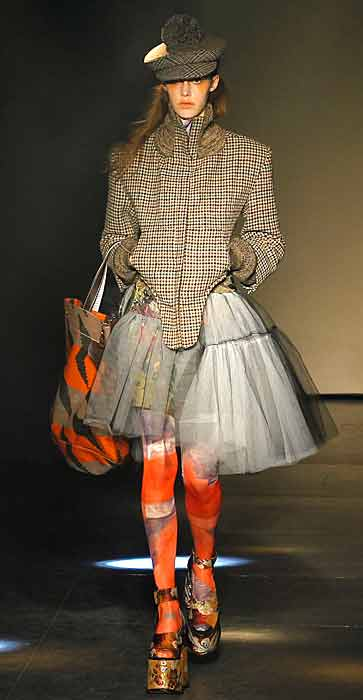 Vivienne Westwood 2012 2013 - calza arancione