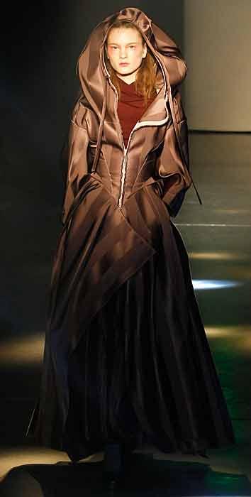 Vivienne Westwood 2012 2013 - cappotto con zip