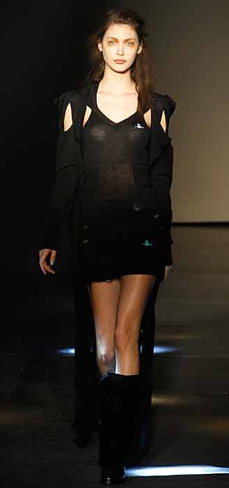 Vivienne Westwood 2012 2013 - mini abito nero