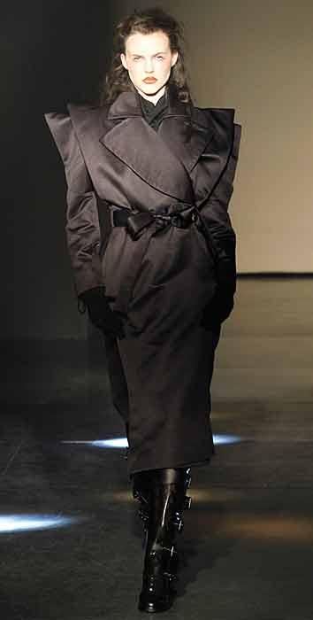 Vivienne Westwood 2012 2013 - cappotto nero
