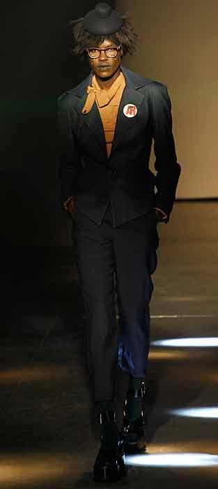Vivienne Westwood 2012 2013 - completo nero