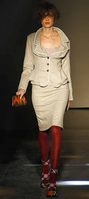 Vivienne Westwood 2012 2013 - tailleur crema