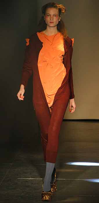 Vivienne Westwood 2012 2013 - abito arancione