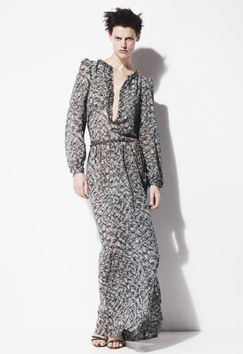 Zara donna - abito lungo floreale