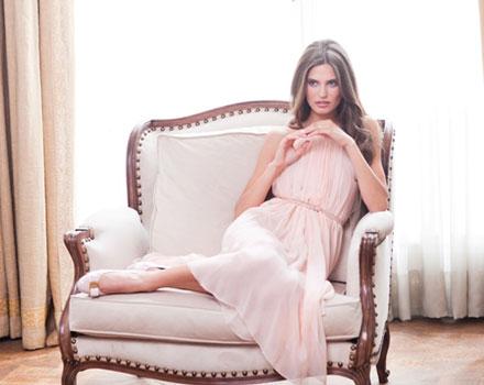 Bianca Balti - abito rosa