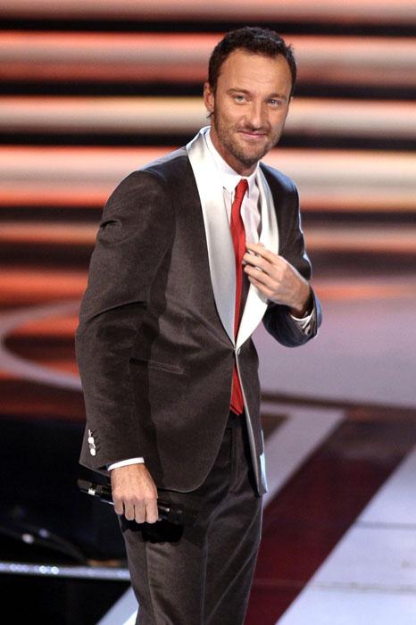 Francesco Facchinetti - cravatta rossa
