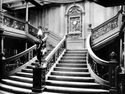 Titanic  - l'arredamento interno