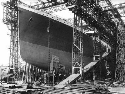 La costruzione del Titanic