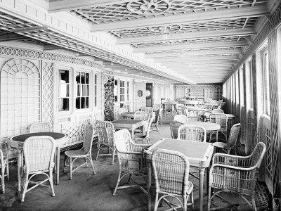 Titanic - gli interni