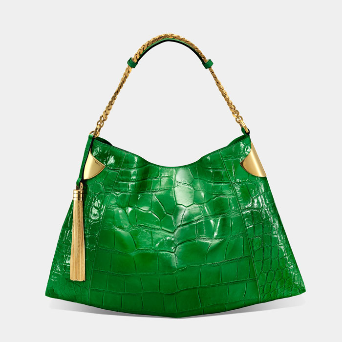 Borsa Gucci 1970 verde estate 2012