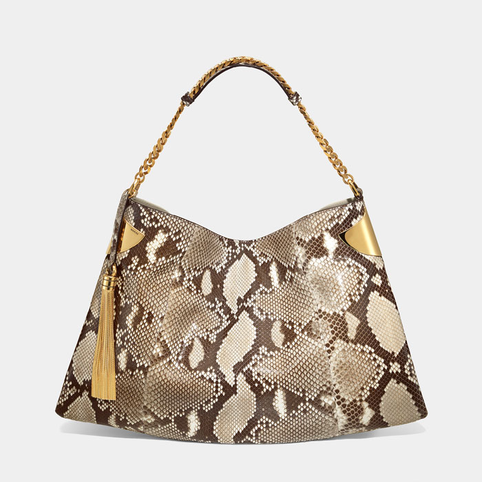 Borsa Gucci pitone naturale estate 2012