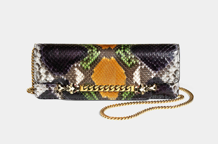 Borsa Gucci pitone multicolor estate 2012