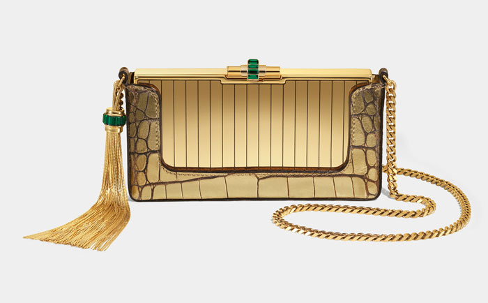 Borsa Gucci pitone oro estate 2012