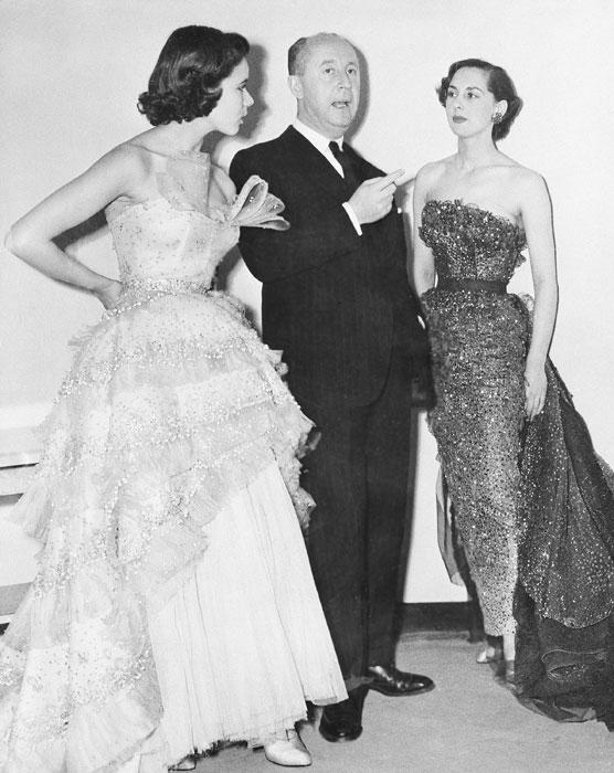 Christian Dior e due modelle