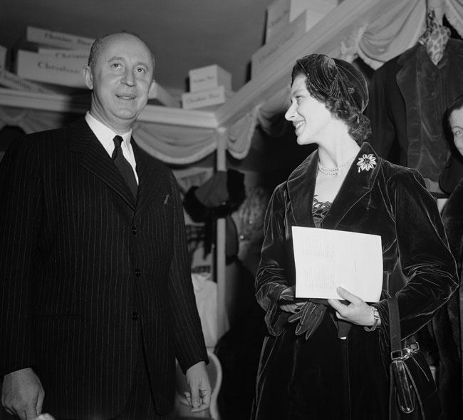 Christian Dior e la Principessa Margaret