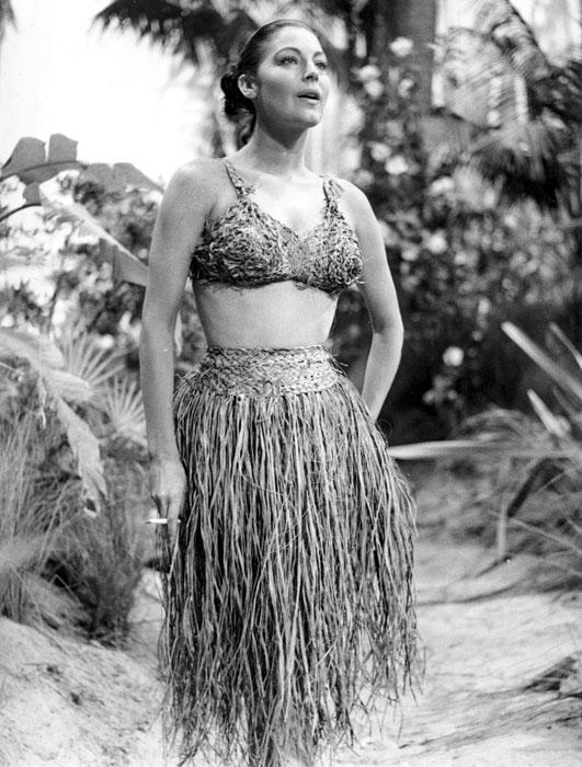 Ava Gardner in una scena del film La Capannina